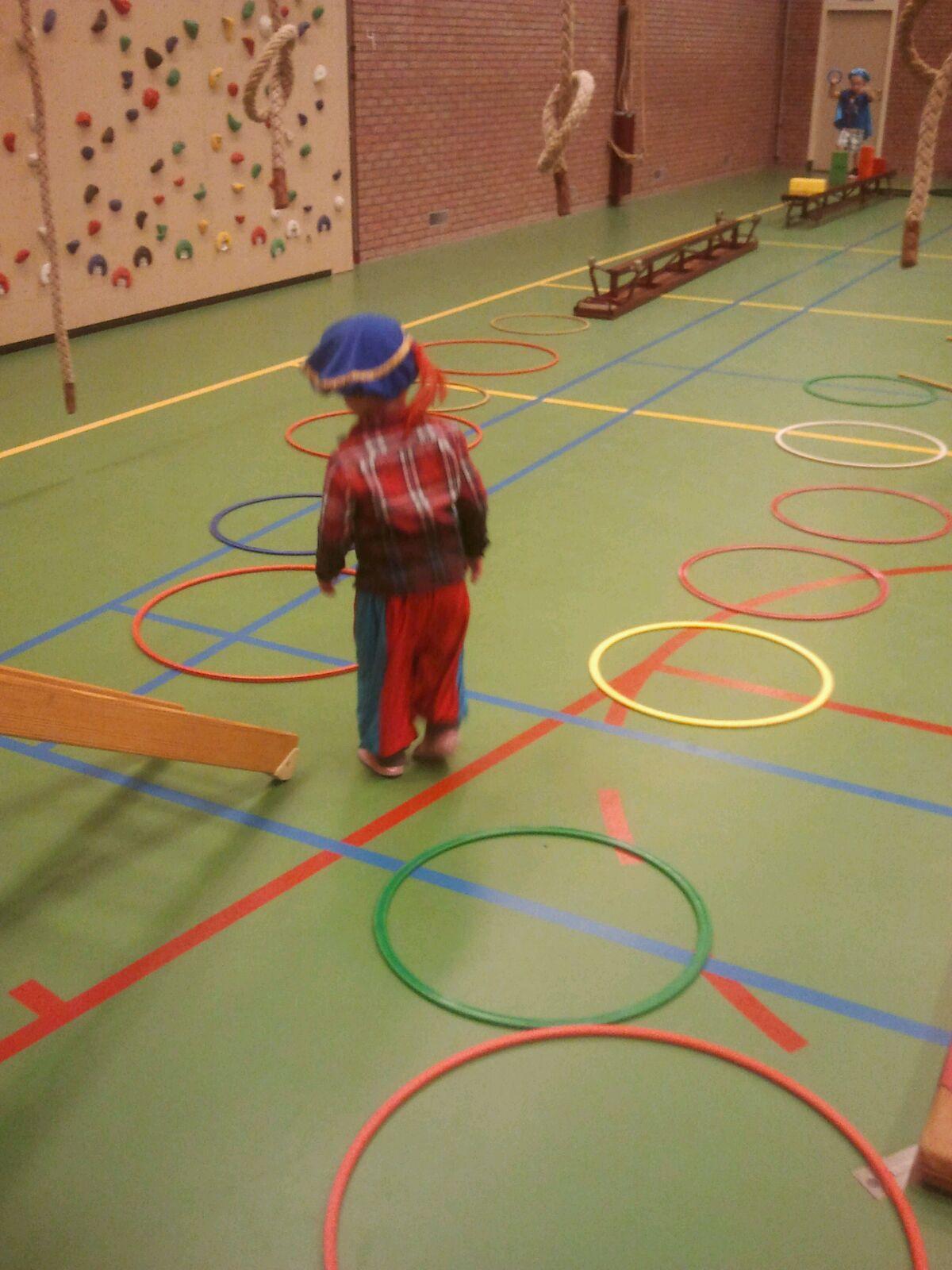 Ieder jaar wordt er weer pietengym georganiseerd bij kindergym - Sportvereniging Bierum